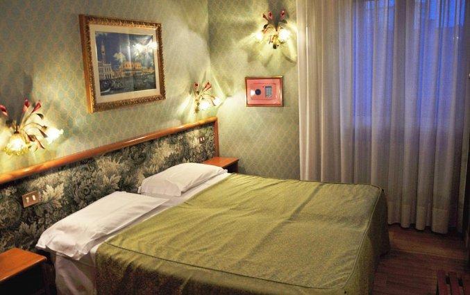 Tweepersoonskamer van hotel Venezia