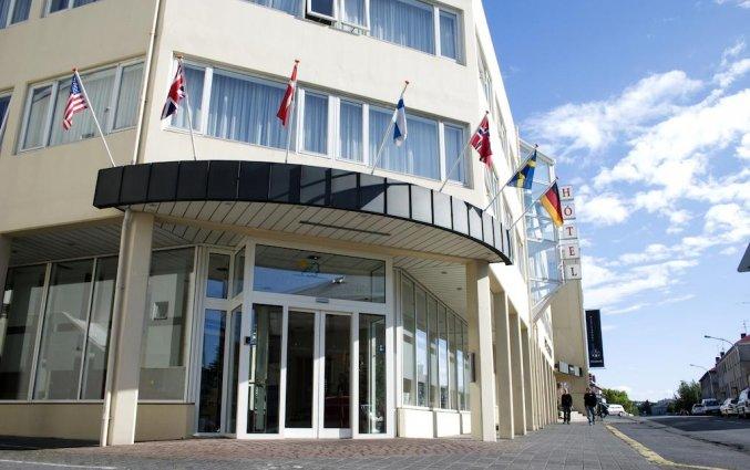 Vooraanzicht van hotel Fosshotel Rauoara