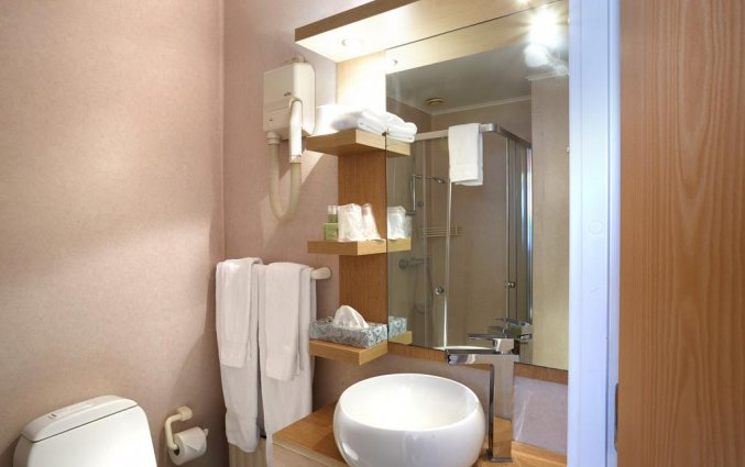Badkamer van hotel Fosshotel Rauoara