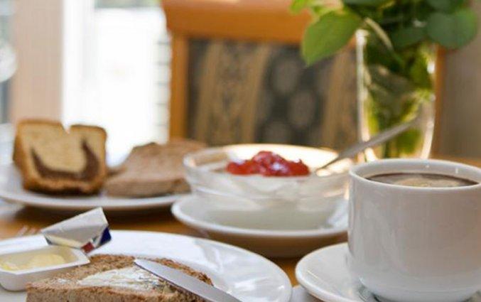 Ontbijt van hotel Cecil Athene
