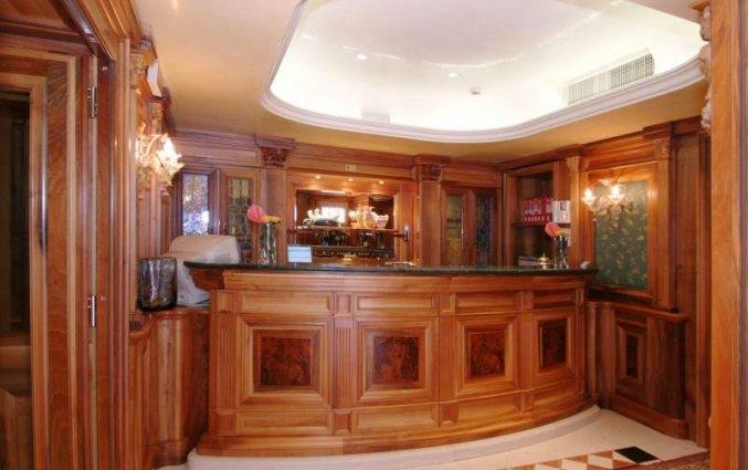 Receptie van hotel Ca'Marinella