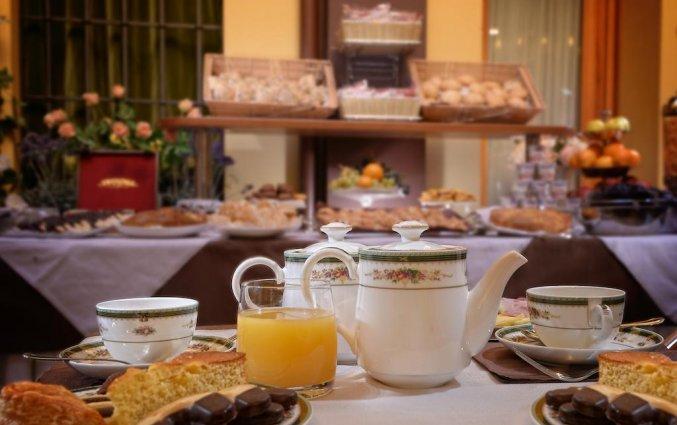 Ontbijt van hotel Ca'Marinella