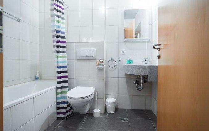 Tweepersoonskamer van Hotel Laxnes op IJsland