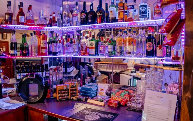 Bar van Hotel Laxnes op IJsland