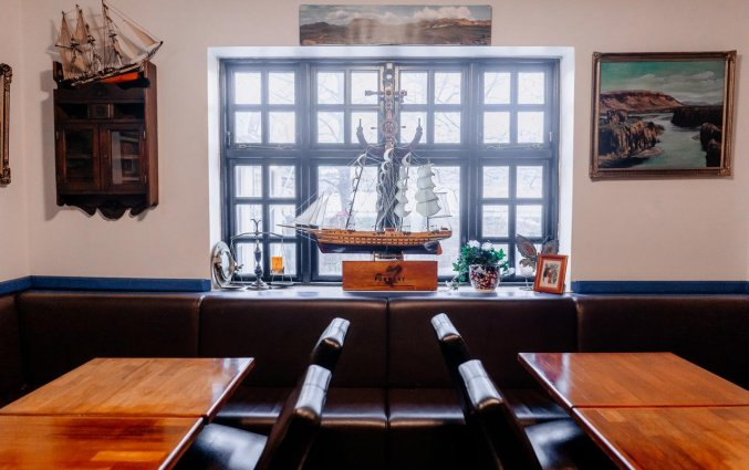 Pub van Hotel Laxnes op IJsland