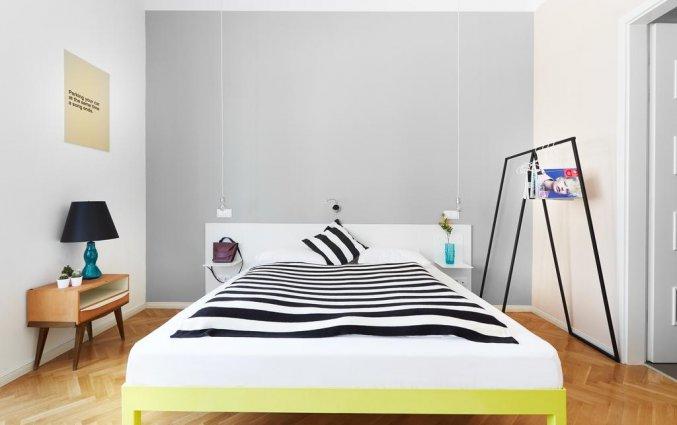 Tweeprsoonskamer van Hotel en Apartments The Magazine