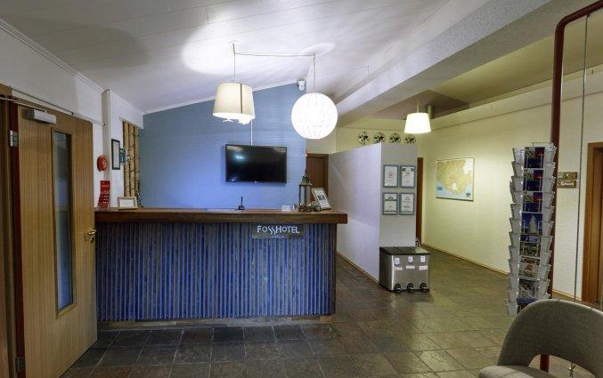 Receptie van Hotel Fosshotel Hekla op IJsland