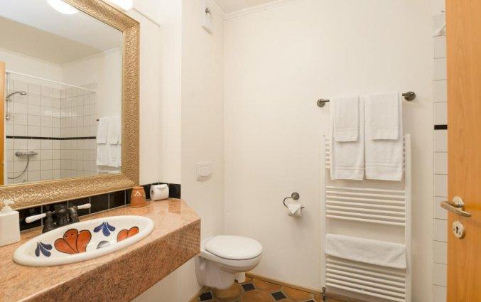 Tweepersoonskamer van Hotel Kriunes op IJsland