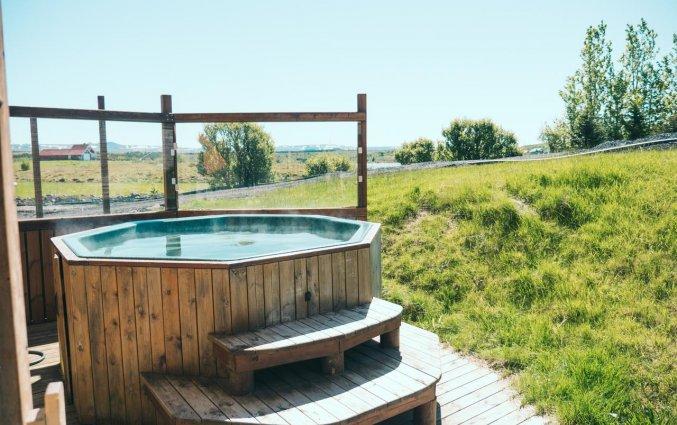 Jacuzzi van Hotel Kriunes op IJsland