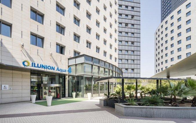 Entree van Hotel Ilunion Aqua 4 in Valencia