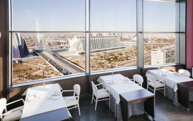 Restaurant van Hotel Ilunion Aqua 4 in Valencia