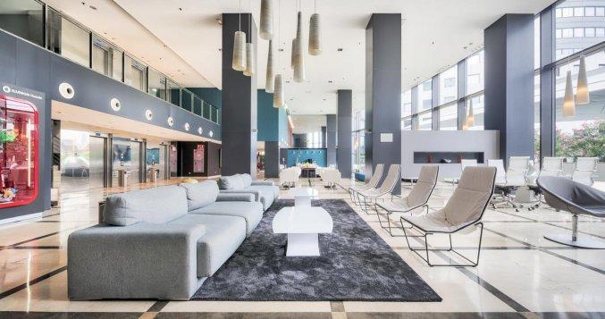 Lobby van Hotel Ilunion Aqua 4 in Valencia