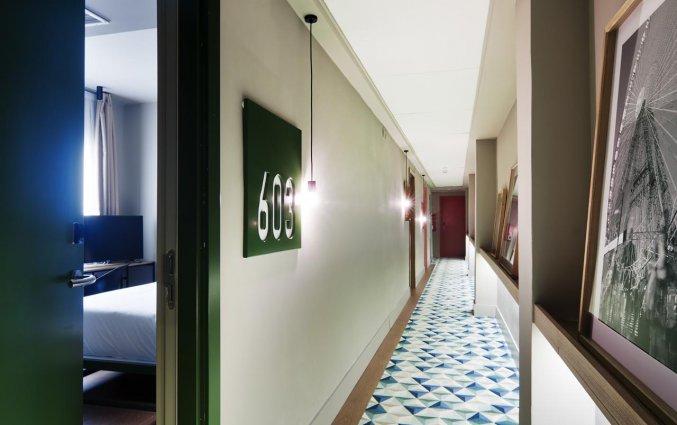 Gang van Hotel One Shot Colon 46 in Valencia