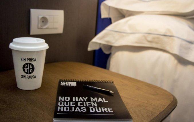 Tweepersoonskamer van Hotel One Shot Colon 46 in Valencia