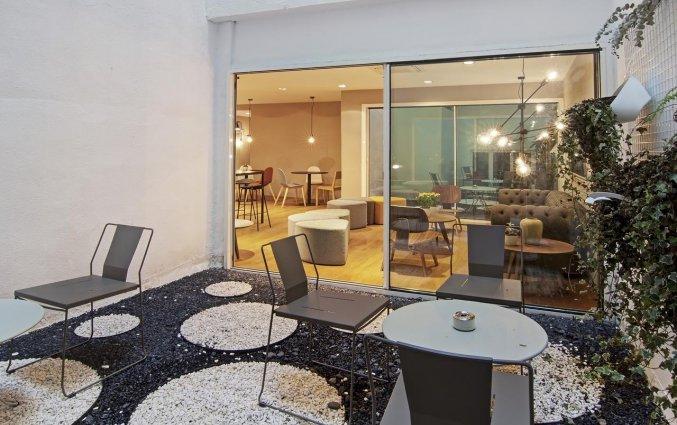 Terras van Hotel One Shot Colon 46 in Valencia