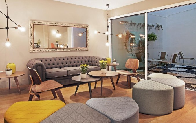 Lounge van Hotel One Shot Colon 46 in Valencia