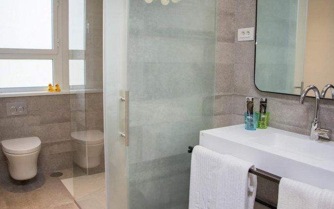 Badkamer van een tweepersoonskamer van Hotel One Shot Colon 46 in Valencia