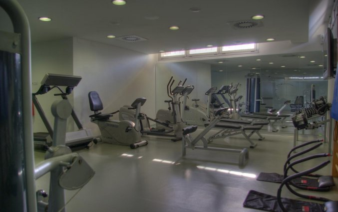 Fitnessruimte van Hotel Neptuno in Valencia