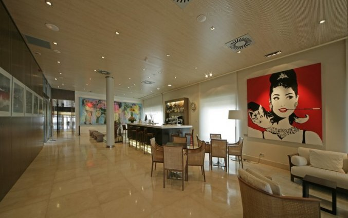 Hall van Hotel Neptuno in Valencia