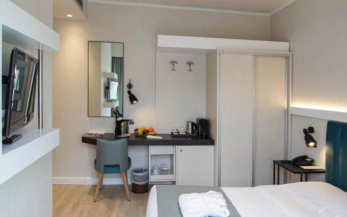 Tweepersoonskamer van hotel Athens Cypria