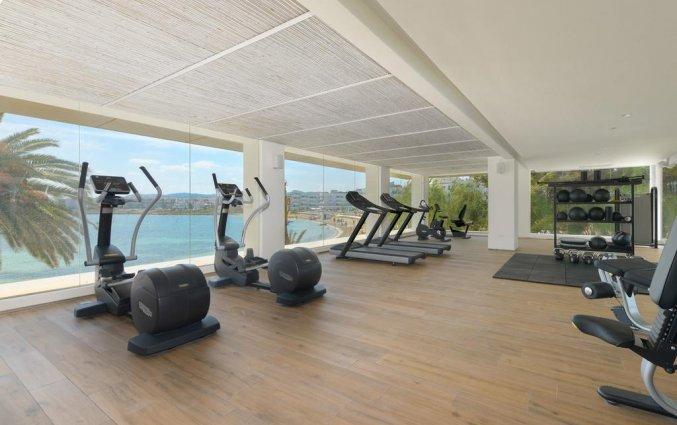 Fitnessruimte van Hotel Amare Beach op Ibiza