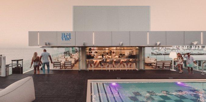 Skybar van Hotel Amare Beach op Ibiza