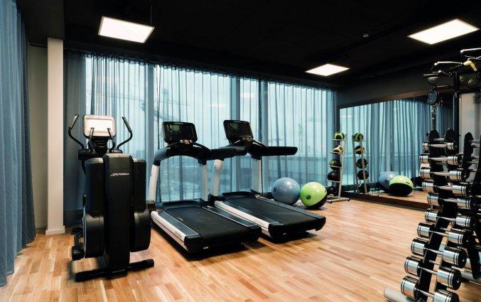 Fitnessruimte van Hotel Elite Carolina Tower in Stockholm