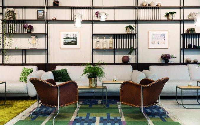 Lounge van Hotel Elite Carolina Tower in Stockholm