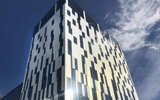 Gebouw van Hotel Elite Carolina Tower in Stockholm