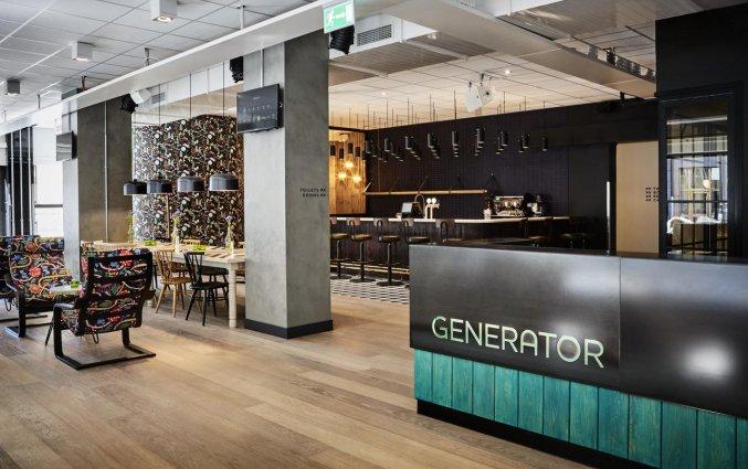 Lobby van Hostel Generator in Stockholm