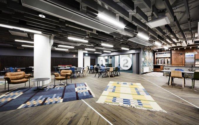 Lounge van Hostel Generator in Stockholm