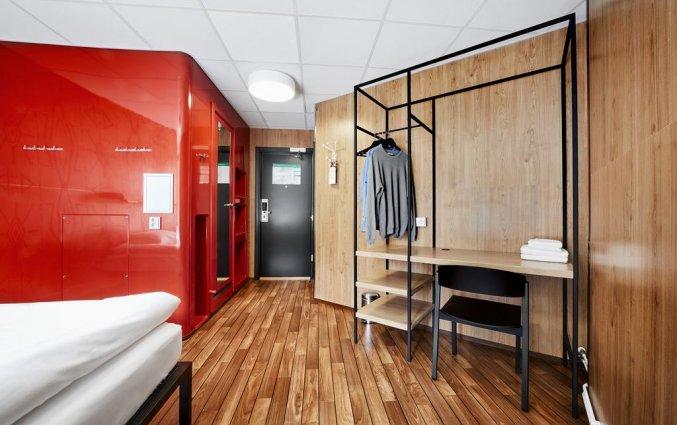 Tweepersoonskamer van Hostel Generator in Stockholm
