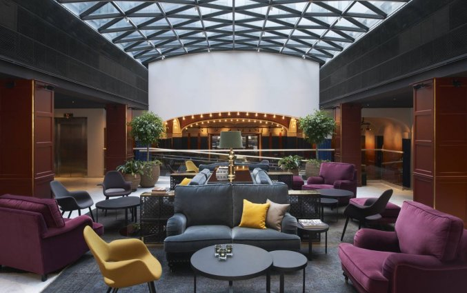 Lobby van Hotel Grand Central By Scandic in Stockholm