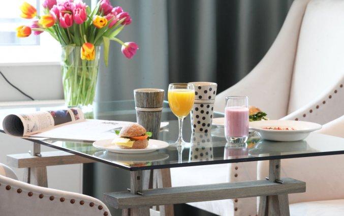 Ontbijt van Appartementen Biz Gardet in Stockholm