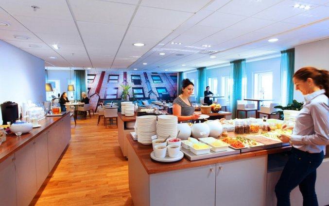 Ontbijtzaal van Appartementen Biz Gardet in Stockholm