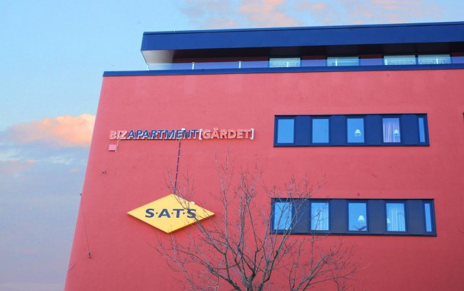 Gebouw van Appartementen Biz Gardet in Stockholm