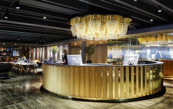 Lobby van Hotel Clarion Amaranten in Stockholm