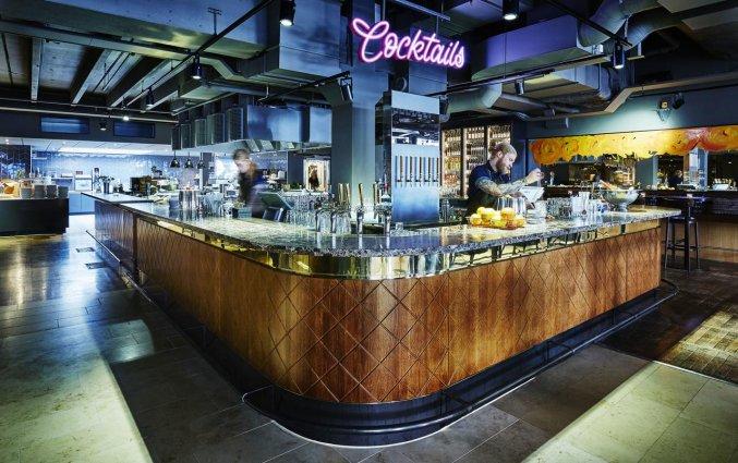 Cocktailbar van Hotel Clarion Amaranten in Stockholm