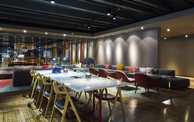 Lounge van Hotel Clarion Amaranten in Stockholm