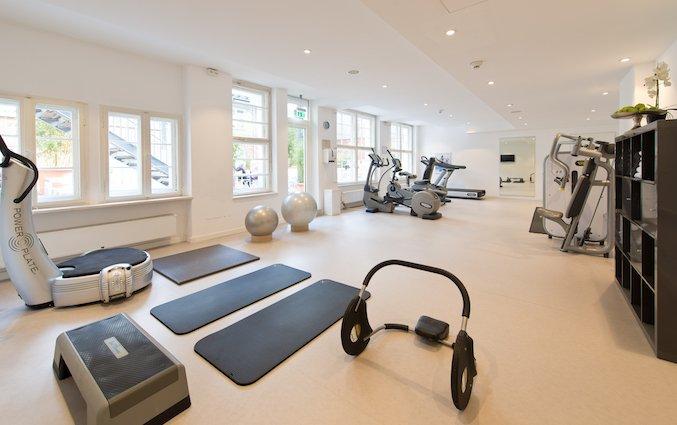 Fitnessruimte van Hotel Ellington in Berlijn