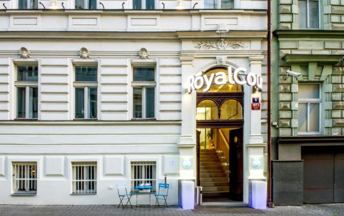 Hotel Royal Court in Praag