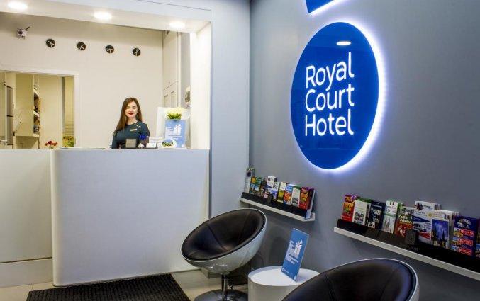 Receptie van Hotel Royal Court in Praag