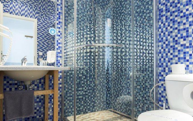 Badkamer in kamer van Hotel Royal Court in Praag