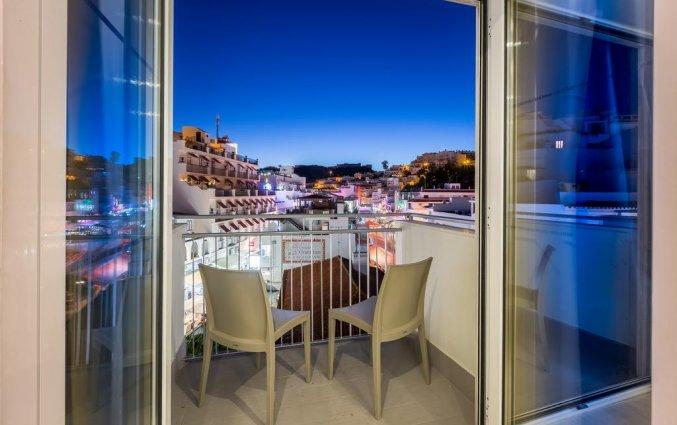 Balkon van kamer van Hotel Baltum in de Algarve