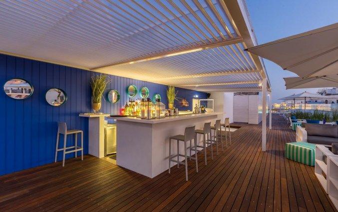 De bar op het dakterras van Hotel Baltum in de Algarve