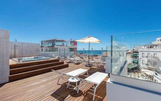 Dakterras van Hotel Baltum in de Algarve