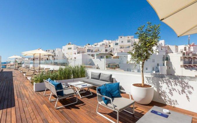 Dakterras met uitzicht van Hotel Baltum in de Algarve