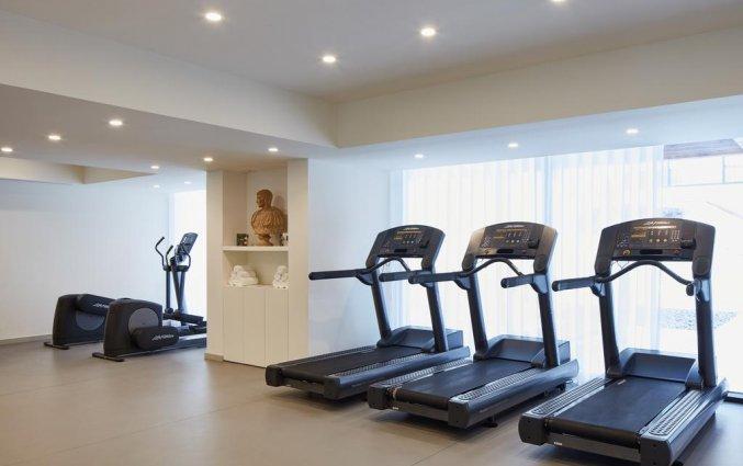 Fitnessruimte van Hotel Tivoli Carvoeiro in Algarve