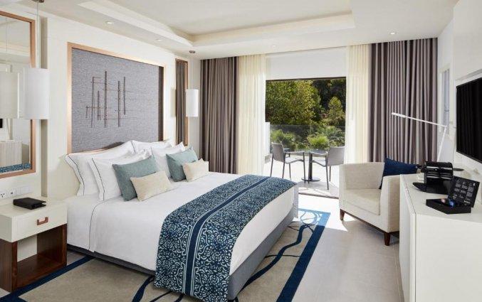 Slaapkamer van Hotel Tivoli Carvoeiro in Algarve