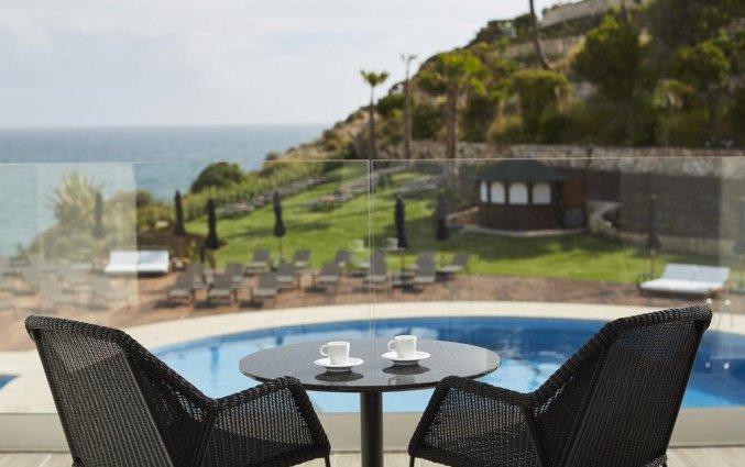 Teras van Hotel Tivoli Carvoeiro in Algarve